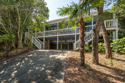 Pine Knoll Shores Single Family Home For Sale: 551 Coral Ridge Road