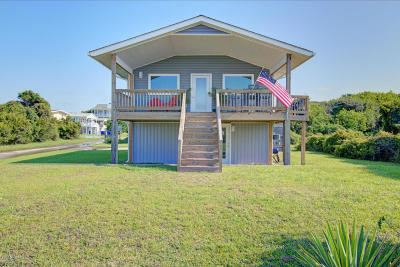 Oak Island Single Family Home For Sale: 7702 E Beach Drive