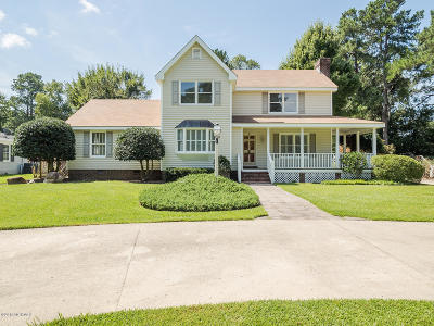 Rocky Mount Single Family Home For Sale: 3405 Hawthorne Road