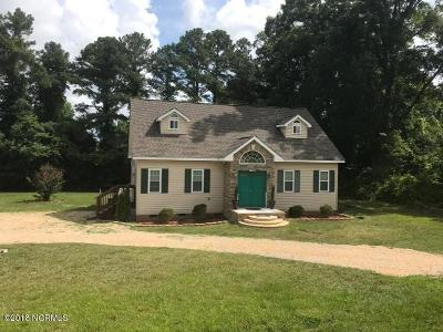 Greenville Single Family Home For Sale: 3180 Nc 43 N