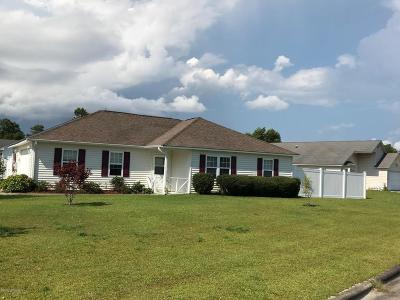 Morehead City Single Family Home For Sale: 600 Worth Drive