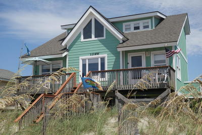 Oak Island Single Family Home Pending: 109 W Beach Drive