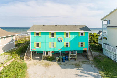 Emerald Isle Multi Family Home For Sale: 4705 Ocean Drive #East And