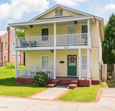 New Bern Single Family Home For Sale: 510 George Street