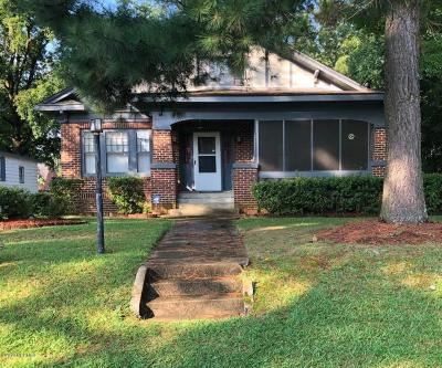Rocky Mount Single Family Home For Sale: 1021 Sycamore Street