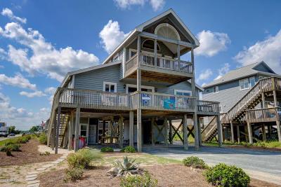 Topsail Beach Single Family Home For Sale: 1712 Ocean Boulevard