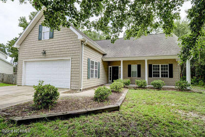 Wilmington NC Single Family Home For Sale: $285,000