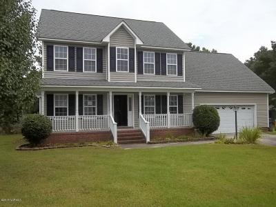 Havelock NC Single Family Home For Sale: $125,000