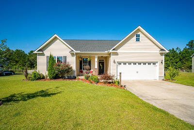 Havelock NC Single Family Home For Sale: $170,000
