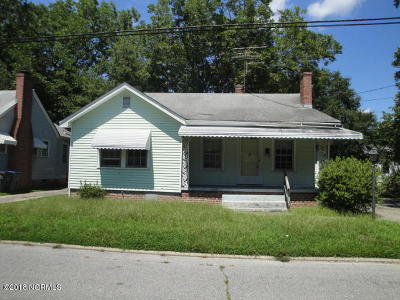 Rocky Mount Single Family Home For Sale: 404 Dexter Street