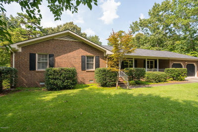 New Bern Single Family Home For Sale: 2115 Perrytown Loop Road