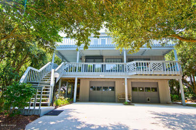 Emerald Isle Single Family Home For Sale: 103 Sand Castle Drive