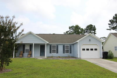 Holly Ridge Single Family Home For Sale: 141 Belvedere Drive