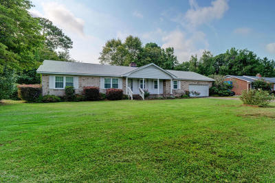 Wilmington Single Family Home For Sale: 313 Stonewall Jackson Drive