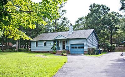 Cape Carteret NC Single Family Home For Sale: $289,000