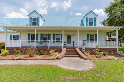 Beulaville Single Family Home For Sale: 599 Durwood Evans Road