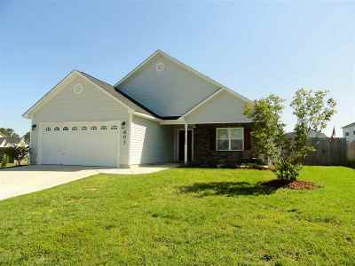 Onslow County Single Family Home For Sale: 603 Walkens Woods Lane