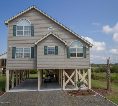 Ocean Isle Beach Single Family Home For Sale: 265 E Second Street
