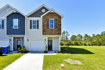 Onslow County Condo/Townhouse For Sale: 320 Cedar Island Trail