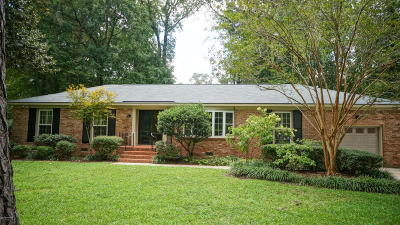 New Bern Single Family Home For Sale: 3503 Windsor Drive