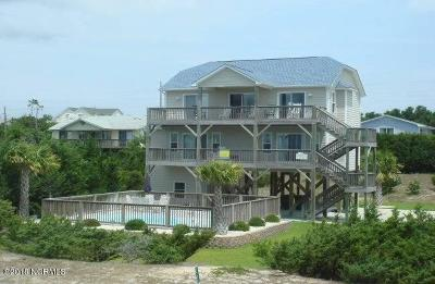 Carteret County Single Family Home For Sale: 3502 Ocean Drive