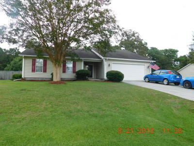 Swansboro Single Family Home For Sale: 209 Marsh Hen Court