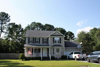Richlands Single Family Home For Sale: 366 Duffy Field Road