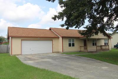 Hubert Single Family Home For Sale: 111 E Ivybridge Drive