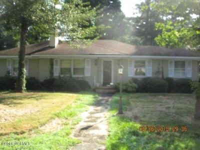 Nash County Single Family Home For Sale: 723 S Taylor Street