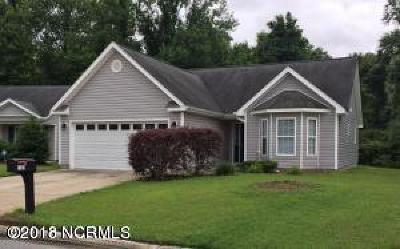 Greenville Single Family Home For Sale: 3124 Ruth Court