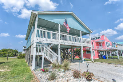 Oak Island Single Family Home For Sale: 1022 W Beach Drive