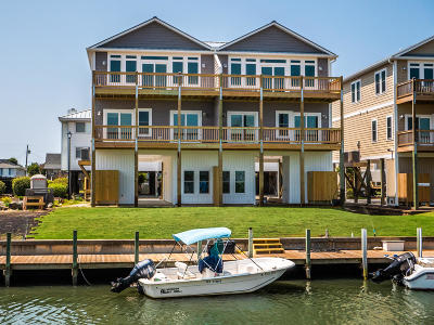 Topsail Beach Condo/Townhouse For Sale: 952 Tower Court