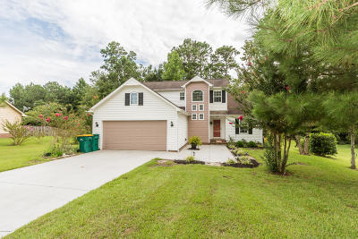 Swansboro Single Family Home Active Contingent: 288 River Reach Drive