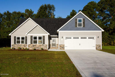 Onslow County Single Family Home For Sale: 118 Barnhouse Road #21