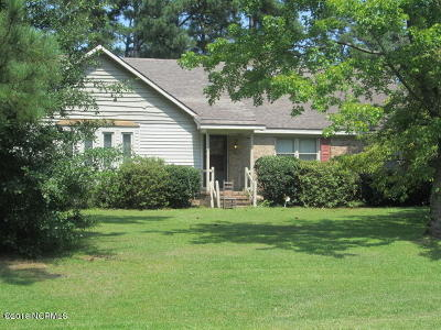 Nash County Single Family Home For Sale: 1300 Green Tee Lane