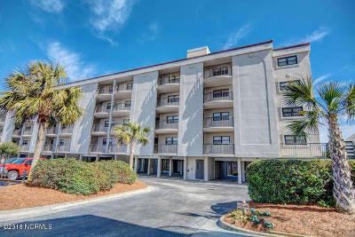 Wrightsville Beach Condo/Townhouse For Sale: 2400 N Lumina Avenue N #1401