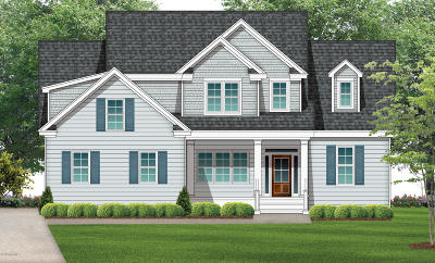 Wilmington Single Family Home For Sale: 728 Wild Dunes Circle #Lot 25