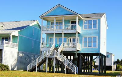 Oak Island Single Family Home For Sale: 2318 W Beach Drive