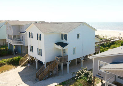 Holden Beach Condo/Townhouse For Sale: 375 Ocean Boulevard W #B