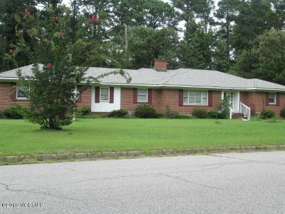 Edgecombe County Single Family Home For Sale: 1800 Bedford Road