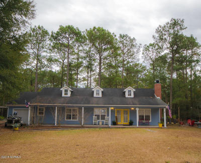 Holly Ridge, Sneads Ferry, Surf City, Topsail Beach Rental For Rent: 1631 Chadwick Shores Drive