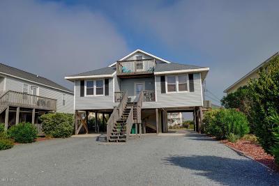 North Topsail Beach, Surf City, Topsail Beach Single Family Home For Sale: 1513 Easy Street