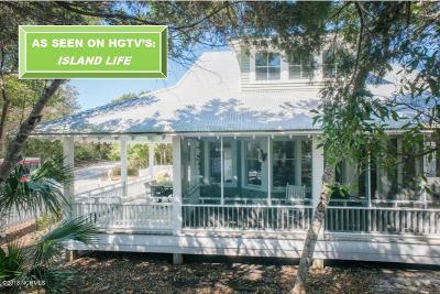 Bald Head Island Single Family Home For Sale: 663 Wash Woods Way