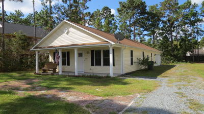 Southport Single Family Home For Sale: 1030 Pierce Road