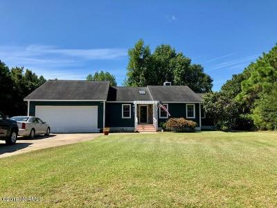 Swansboro Single Family Home For Sale: 118 Silver Creek Landing Road