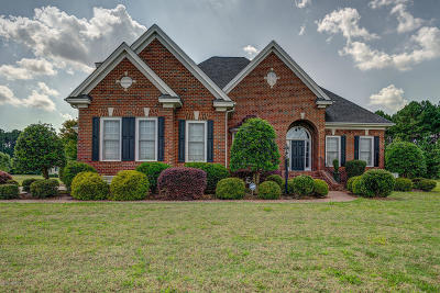 Rocky Mount Single Family Home For Sale: 642 Chimney Hill Way