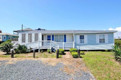 North Topsail Beach, Surf City, Topsail Beach Single Family Home For Sale: 3200 Gray Street