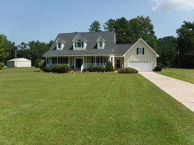 Greenville Single Family Home For Sale: 3740 Old River Road