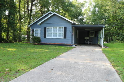 Whiteville NC Single Family Home For Sale: $60,000