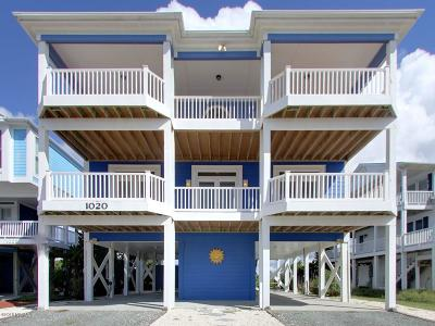 Holden Beach Single Family Home Pending: 1020 Ocean Boulevard W
